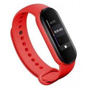 Tactical silikonový řemínek Xiaomi Mi Band 5 červený