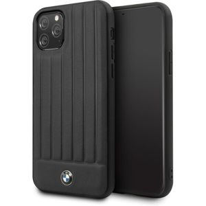 BMW Real Leather kryt iPhone 11 Pro Max černý