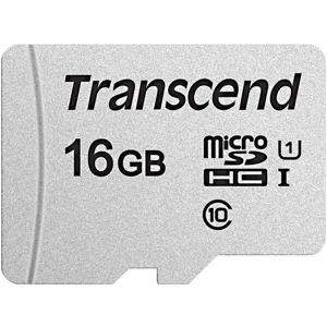 Transcend 16GB microSDHC 300S paměťová karta (bez adaptéru)