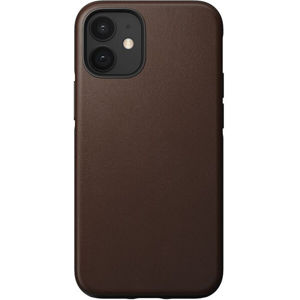 Nomad Rugged Leather case odolný kryt iPhone 12 mini hnědý