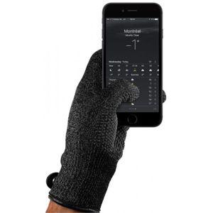 MUJJO dvouvrstvé dotykové rukavice pro SmartPhone (L) černé