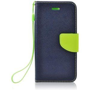 Smarty flip pouzdro Huawei P20 Lite modré/limetkové