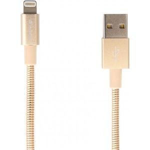 Verbatim datový a nabíjecí kabel s MFi Lightning, 100cm zlatý