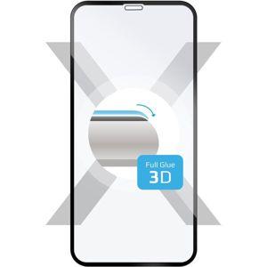 FIXED 3D Full-Cover tvrzené sklo s lepením po celé ploše Apple iPhone XR/11 černé