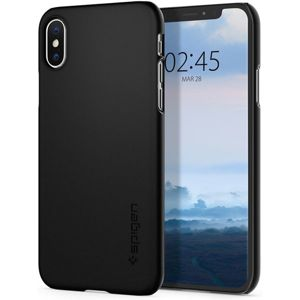 Spigen Thin Fit kryt iPhone XS/X černý