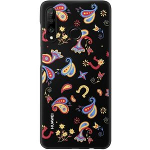 Huawei Colorful TPU kryt Huawei P30 Lite Flower Black