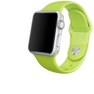 COTEetCI silikonový sportovní náramek pro Apple Watch 38/40 mm zelený