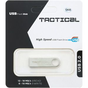 Tactical USB 2.0 Flash disk 128GB stříbrný