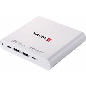 SWISSTEN síťový adaptér 87W PD 3.0/QC4 PPS