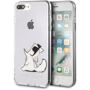 Karl Lagerfeld Fun Choupette No Rope Hard Case iPhone 7/8 Plus čiré