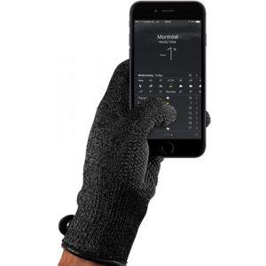 MUJJO jednovrstvé dotykové rukavice pro SmartPhone (M) černé