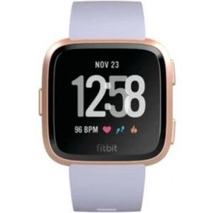 Fitbit Versa (NFC) sportovní řemínek fialový / ružovozlatý hliník