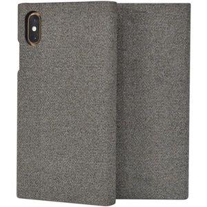 SoSeven Premium Gentleman Book flip iPhone XS Max šedé