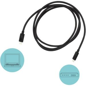 i-tec Thunderbolt 3 Class Cable 40 Gbps 100W PD 150cm