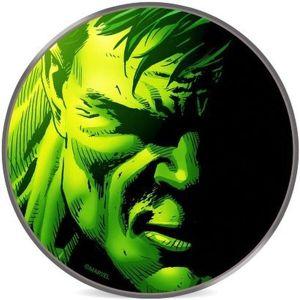 Smarty licencovaná bezdrátová Qi nabíječka 10 W Hulk zelená