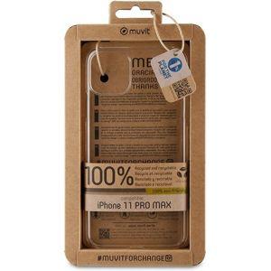 Muvit For Change Recycletek recyklovaný kryt iPhone 11 Pro Max čirý