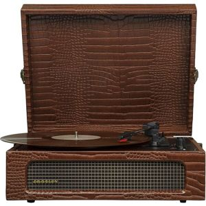 Crosley Voyager Brown Croc