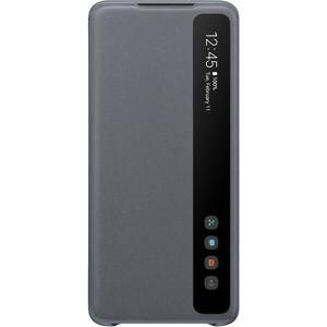 Samsung EF-ZG985CJ Clear View flipové pouzdro Galaxy S20+ šedé