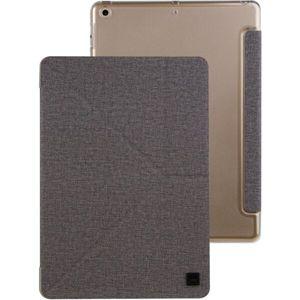 "UNIQ Yorker Kanvas Plus pouzdro se stojánkem Apple iPad Pro 11"" (2018) šedé (eko-balení)"