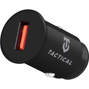 Tactical USB-A QC 3.0 autonabíječka černá