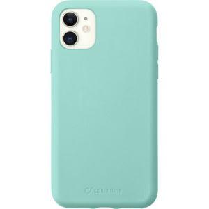 CellularLine SENSATION ochranný silikonový kryt iPhone 11 zelený