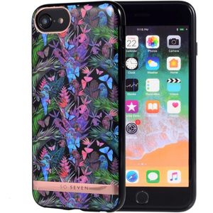 SoSeven Coque Phuket silikonový kryt iPhone 6/7/8 Tropical Noir