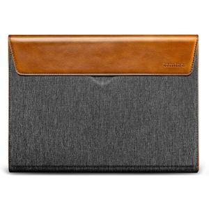 tomtoc Premium Sleeve 16'' MacBook Pro 2019 šedá/koňaková