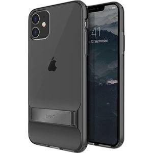UNIQ Cabrio ochranný kryt se stojánkem iPhone 11 tmavě šedý
