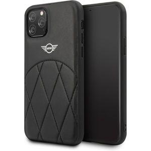 Mini Cooper Stitched Crossing Lines MIHCN58LECRBK kryt iPhone 11 Pro černý
