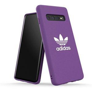 ADIDAS Originals Moulded pouzdro Samsung Galaxy S10 fialové