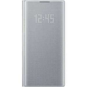 Samsung EF-NN970PSEGWW LED View flipové pouzdro Galaxy Note10 stříbrné