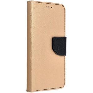 Smarty flip pouzdro Apple iPhone 12 / 12 Pro zlaté/černé