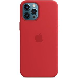 Apple silikonový kryt s MagSafe na iPhone 12 Pro Max (PRODUCT)RED