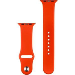 COTEetCI silikonový sportovní náramek pro Apple Watch 42/44 mm červený