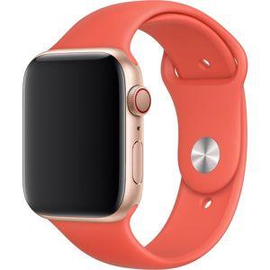 Apple Watch sportovní řemínek 44mm nektarinkový