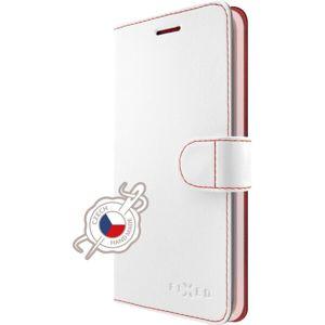FIXED FIT flip pouzdro Huawei Mate 10 Lite bílé