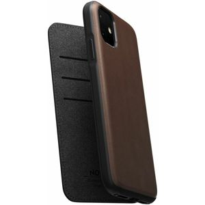 Nomad Folio Leather case pouzdro Apple iPhone 11 hnědé