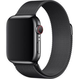 Apple Watch řemínek milánský tah 44mm černý