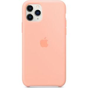 Apple silikonový kryt iPhone 11 Pro grepově růžový