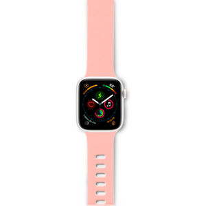 EPICO Silicone řemínek Apple Watch 42/44mm růžový