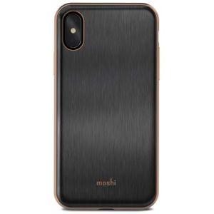 Moshi iGlaze designové pouzdro Apple iPhone X černé
