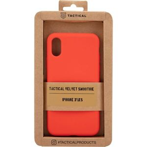 Tactical Velvet Smoothie Kryt pro Apple iPhone X/XS Chilli