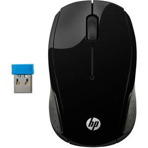 HP 200 bezdrátová myš černá