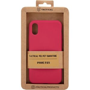Tactical Velvet Smoothie Kryt pro Apple iPhone X/XS Sangria