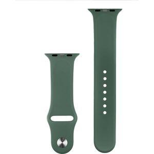 COTEetCI silikonový sportovní náramek pro Apple Watch 42/44 mm tmavě zelený