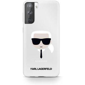Karl Lagerfeld PC/TPU Head kryt Samsung Galaxy S21+ čirý