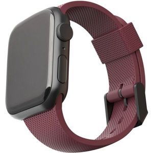 UAG [U] Dot silikonový řemínek Apple Watch 40/38 mm vínový