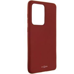 FIXED Story silikonový kryt Samsung Galaxy S20 Ultra červený