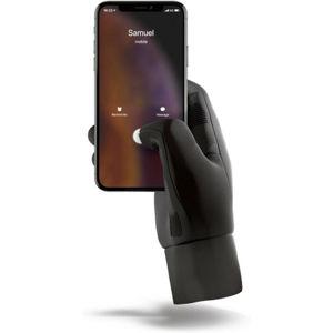 MUJJO Touchscreen dotykové rukavice pro SmartPhone (M) černé