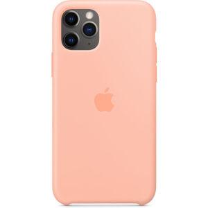 Apple silikonový kryt iPhone 11 grepově růžový